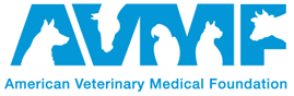 American Veterinary Medical Foundation (AVMF) logo