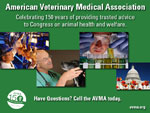 AVMA 150th Anniversary box ad